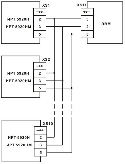 Трехпроводная схема подключения термометр