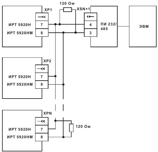 Двухпроводная схема