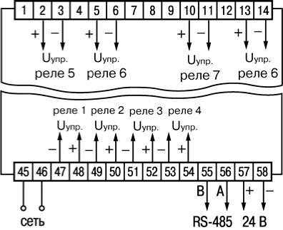 Рисунок Б.6 - Схема