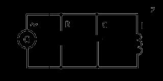 Импеданс, полное сопротивление при параллельном включении емкости и индуктивности.